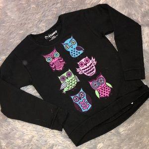 Girls Hanes Owl Sweater